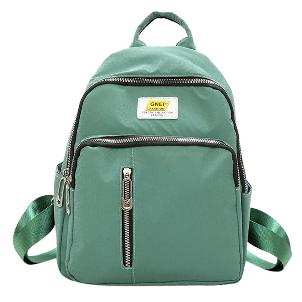 School Backpack,Outsta Girls Women College Large Capaticy Schoolbag Travel Bookbag Lightweight Rucksack Daypack Black
