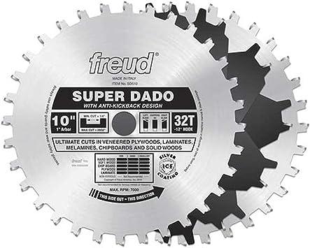 "Freud 8/""Premium Safety Dado Cicular Saw Blade Set SD508"