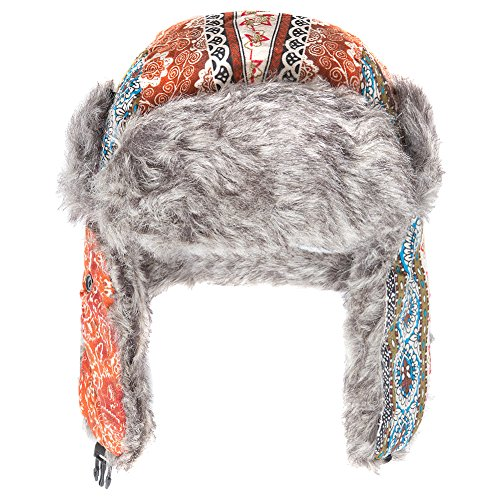 disponibile in Accessoryo Cappello trapezoidale multicolore e modelli 2 arancio unisex wwqfHF