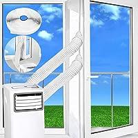 Kit de vedação de janela para ar condicionado portátil, 300 cm, vedação universal de tecido macio para unidade móvel de…