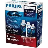 Philips Jet Clean - Reinigingsoplossing - Reinigt grondig uw elektrische scheerapparaat - 3-stuksverpakking - HQ203/50