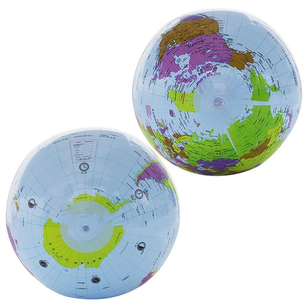 LuLyL - Juego de 4 Globos inflables de 12 Pulgadas, 3 ...