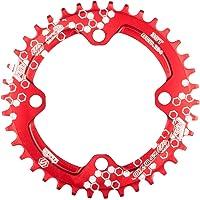 Chooee Plato de Aluminio con 30/38 Dientes para Bicicleta de montaña, con Distancia BCD de 104 mm, de