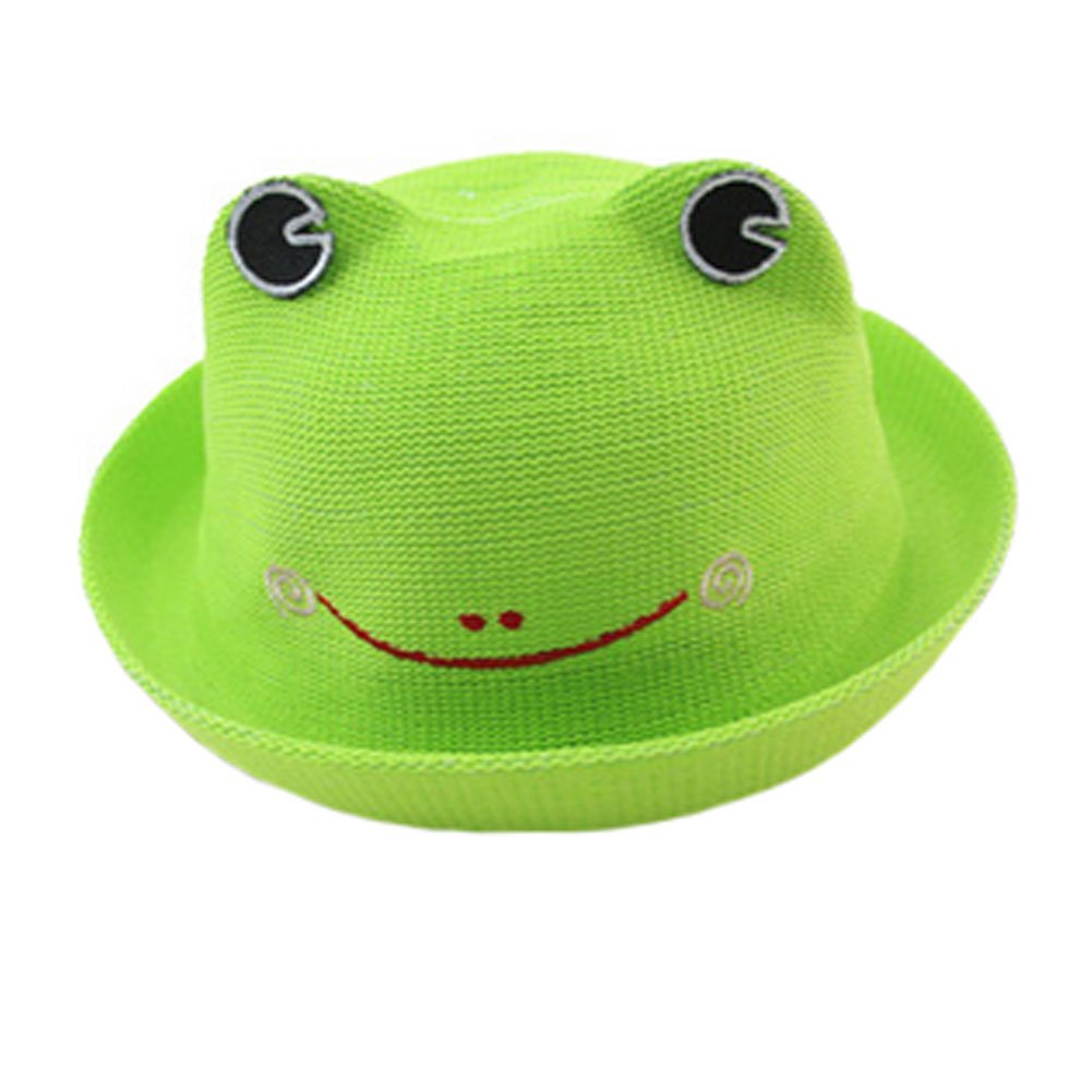 Cut Hat Straw Sun Hats Cap Outdoor Sports Hat for Kids/Toddler, Green Kylin Express