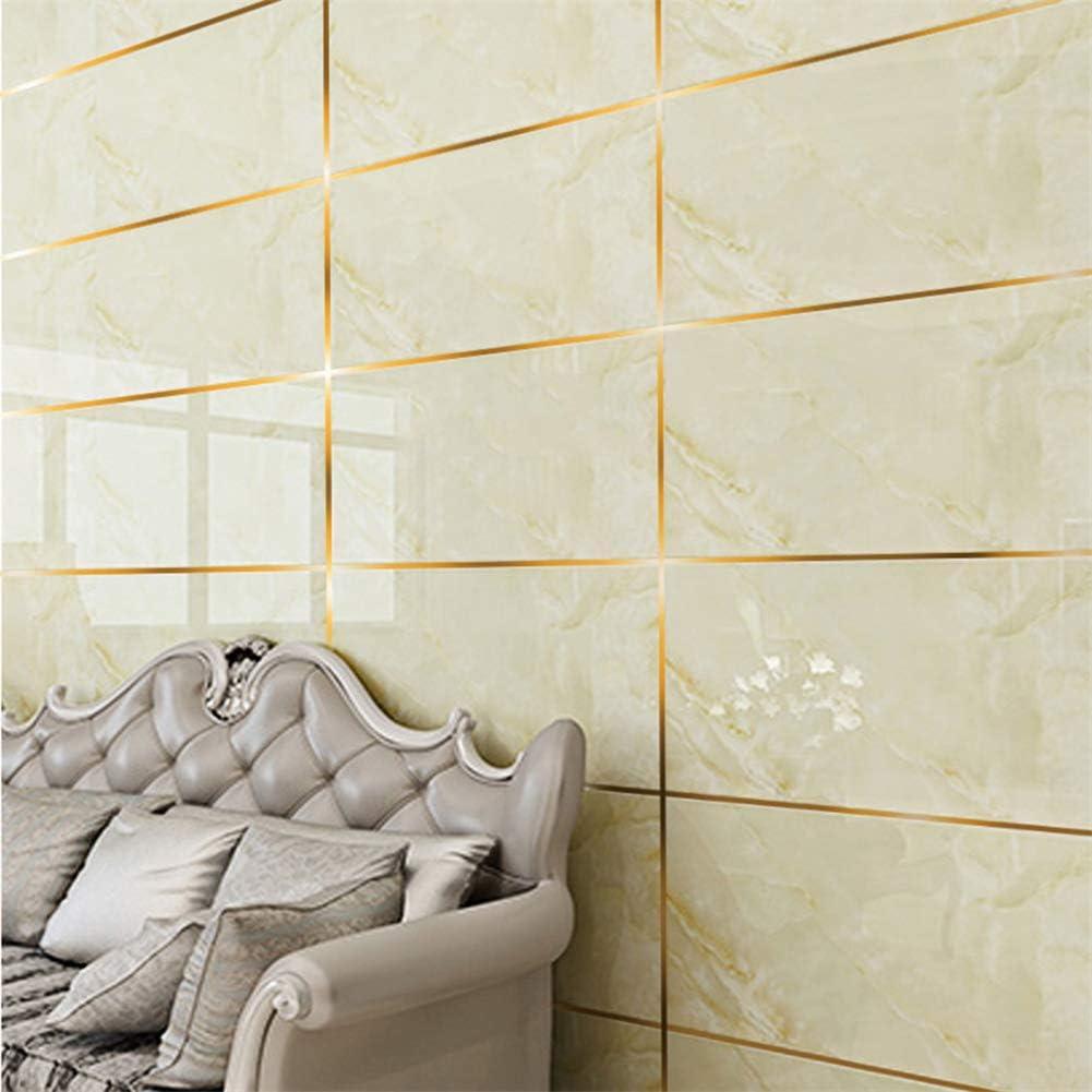 10mm*50m, Silver Mintiml Ceramic Tile Mildewproof Gap Tape