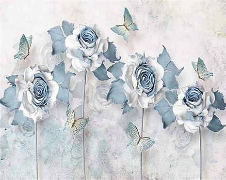 Buy Avikalp Exclusive Awz0160 3d Wallpaper Light Blue