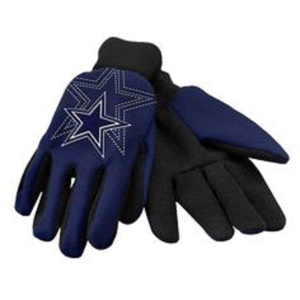 McArthurスポーツダラスカウボーイズスポーツユーティリティ手袋 – 1ペア   B00QCJPYJ0