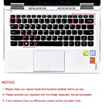 Silicone Keyboard Cover Skin for Lenovo Yoga 710