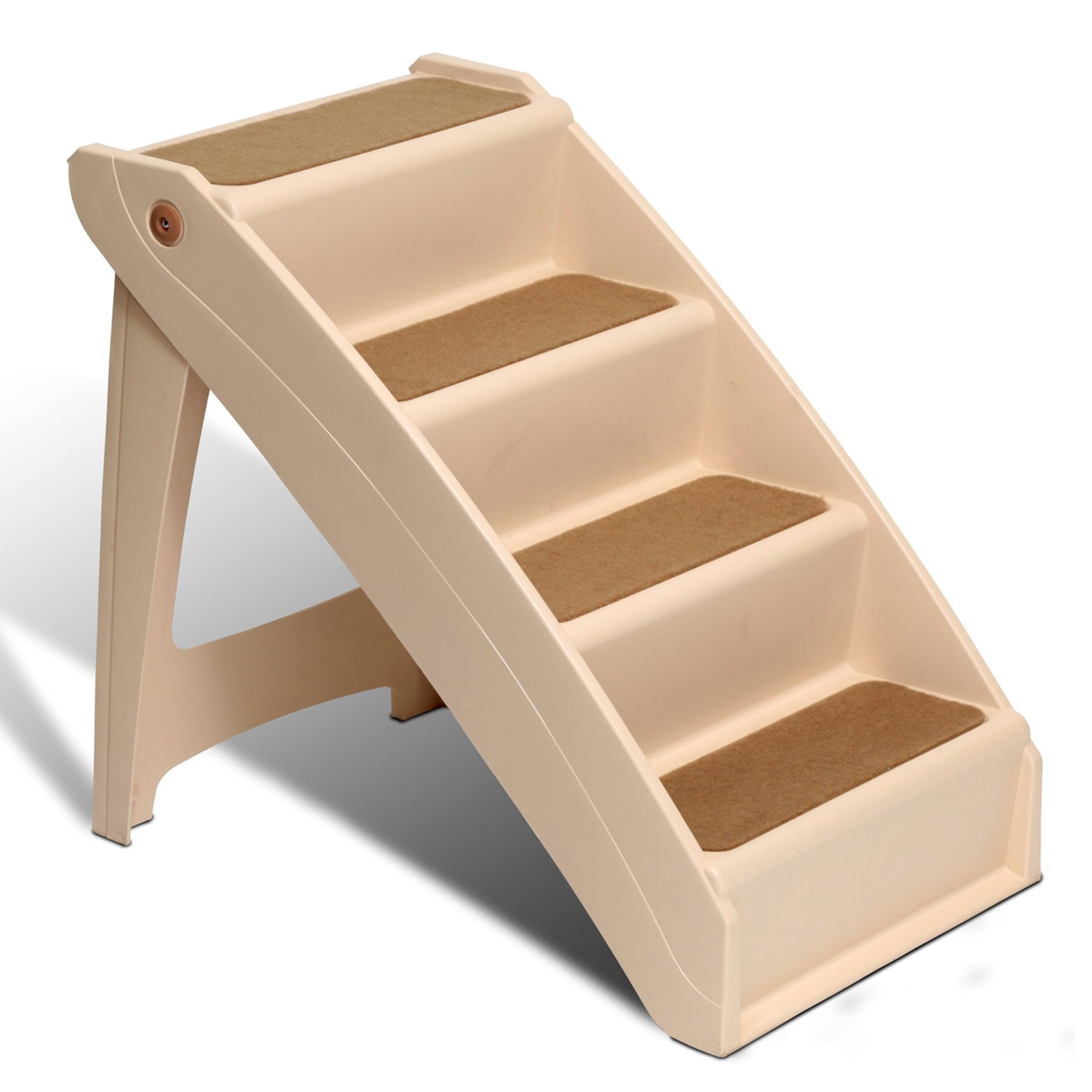 Steps For High Beds Part - 45: Solvit PupSTEP Plus XL Stairs, 28 X 18 X 25-Inch -.