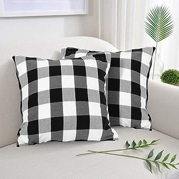 Amazon.com: Buffalo - Fundas de almohada cuadradas ...