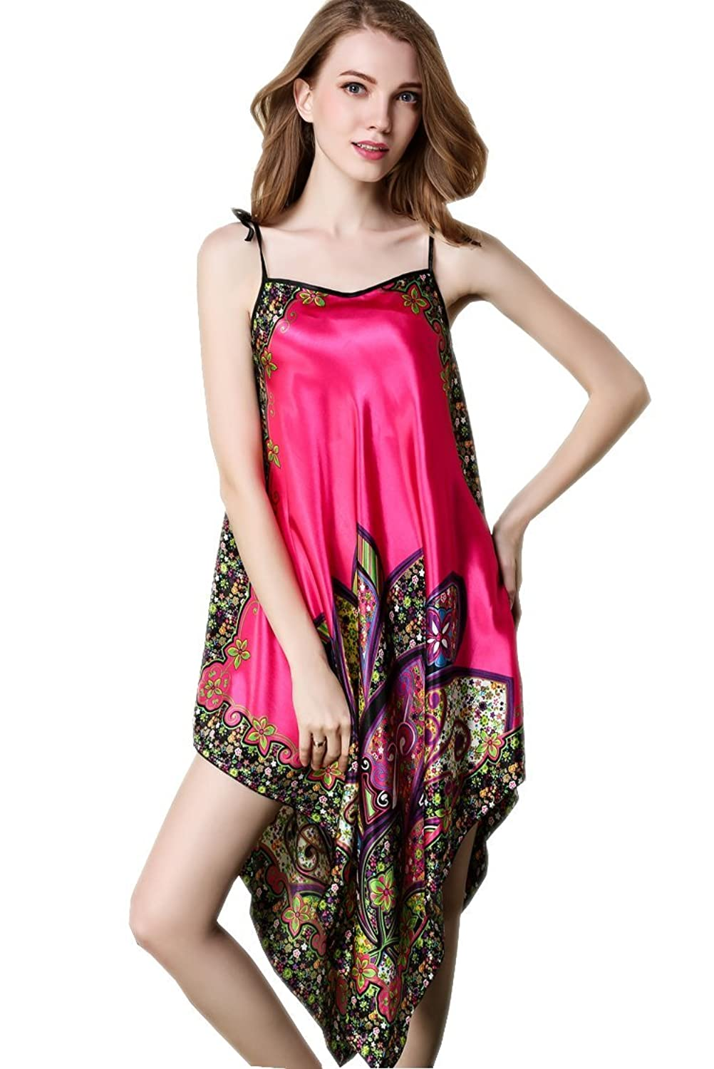 Long Pure Silk Nightgown with Lace F38 Nightgown and Robe