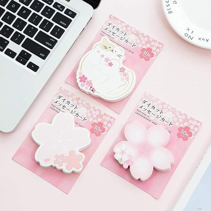 Amazon.com : Romantic Pink Princess Sakura & Cat Loose Leaf ...