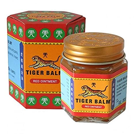 Tiger Balm Herbal Rub Pain Relief (Thailand Edition)