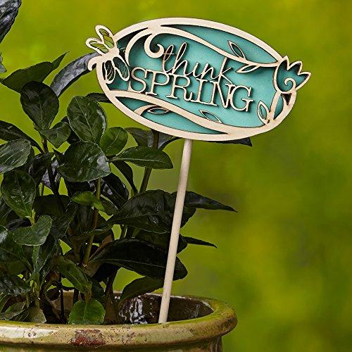 Enesco Flourish Plant Stake Think Spring (Spring Think)