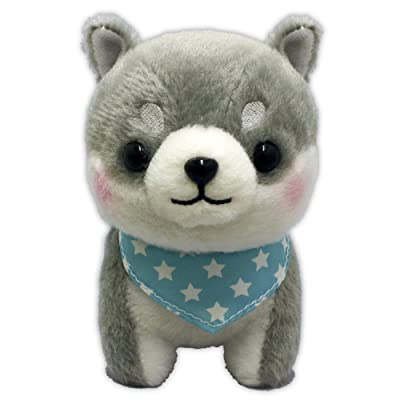 Shiba Inu brothers Plush Doll Tiga: Toys & Games