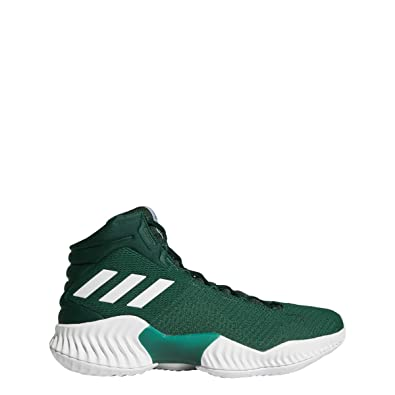 sneakers for cheap 41f3a 866e6 adidas Mens Pro Bounce 2018 Basketball Shoe, Dark Green, ...