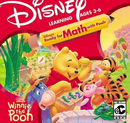 Disney's Ready For Math with Pooh (Jewel Case) 618YNWRQHML