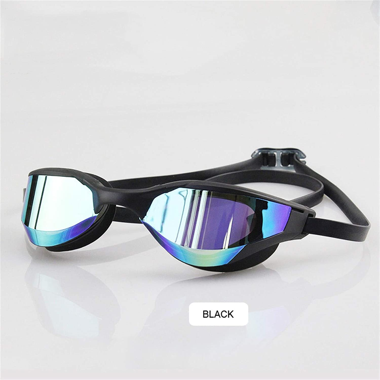 AMPLIAMENTE DISEÑADO gafas de equitación de múltiples aplicaciones Revestimiento del nuevo anti-vaho Protección UV impermeable Competencia Gafas de natación Profesión Racing que nadan los vidrios de l