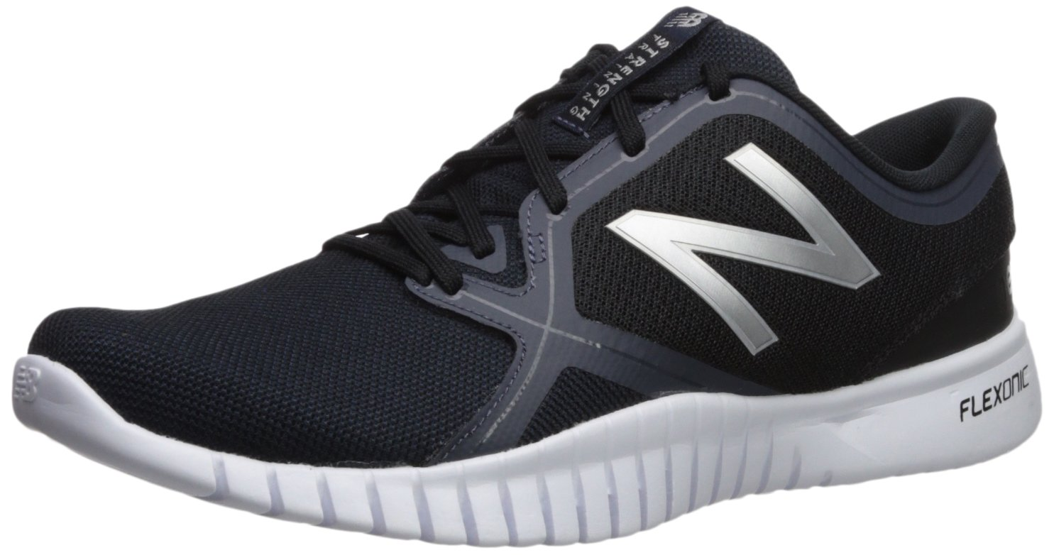 New Balance Men's 66v2 Flexonic Cross Trainer, Black, 7.5 D US by New Balance