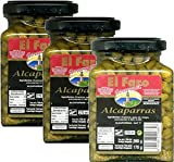 El Faro Alcaparras (Capers) in Vinegar Imported from Spain Pack of 3