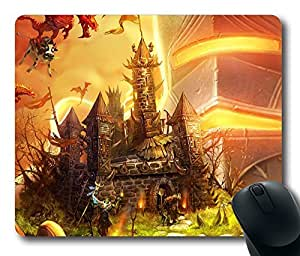 Design Castle And Dragons Mouse Pad Desktop Laptop Mousepads Comfortable Office Mouse Pad Mat Cute Gaming Mouse Pad by runtopwell