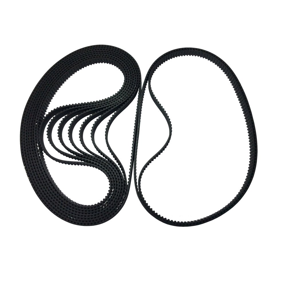 BEMONOC Pack of 10pcs 320-2GT-6 Industrial Timing Belt in Closed Loop 2GT Rubber Belt L=320mm W=6mm 160 Teeth for 3D Printer Parts