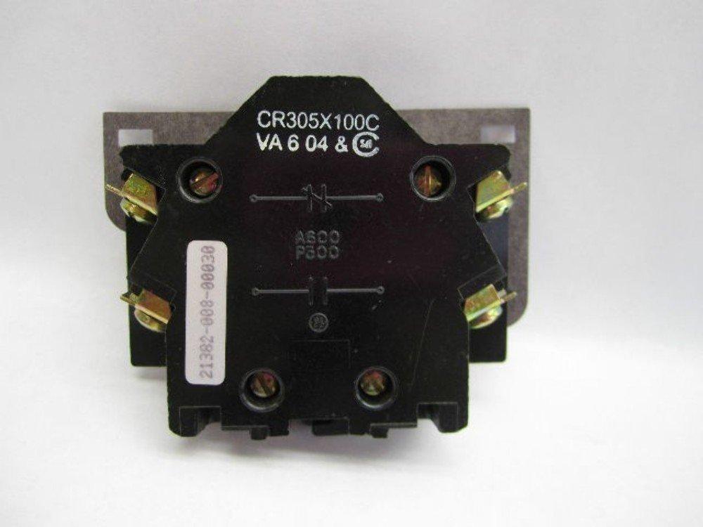 New GE CR305X100C Auxiliary Contact NEMA Size 0-1