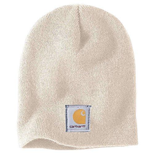 Carhartt Acrylic Knit Hat - Carhartt Women's Acrylic Knit Hat, Winter White, OFA