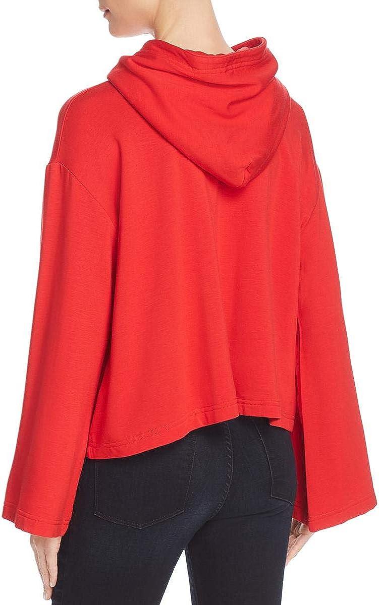 Enza Costa Womens Wide Sleeves Cropped Hoodie 61gf87BcKjLUL1200_