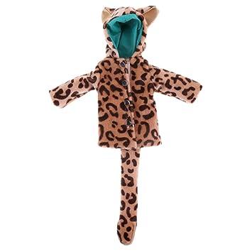 Sharplace Puppen Winter Bekleidung Outfit Fur 1 6 Puppe