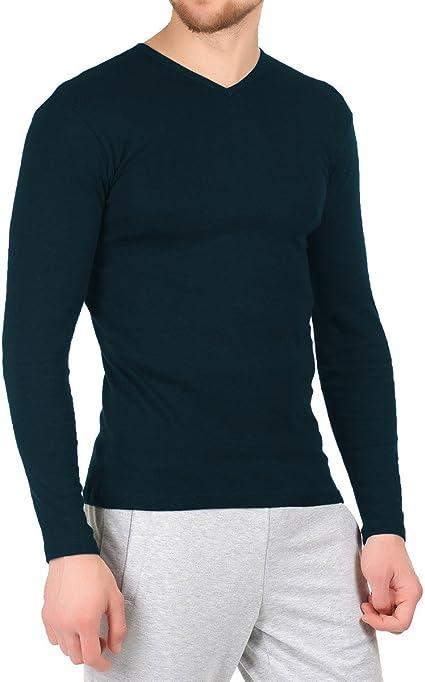 VKA27 Jersey de hombre mod. CARTER camiseta con cuello en V ...