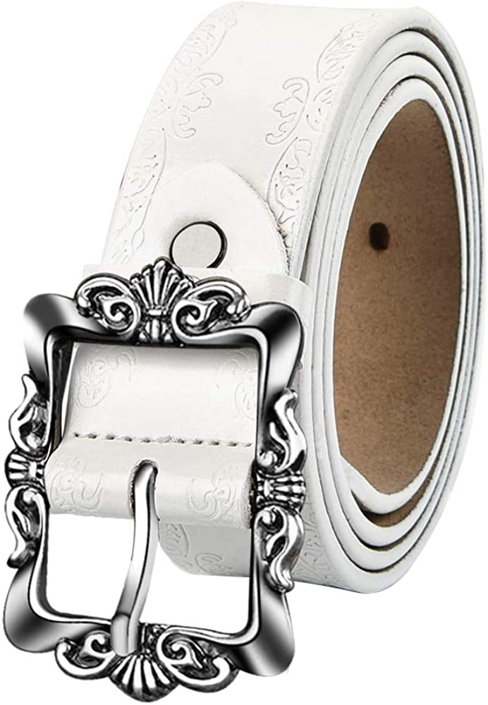Women Leather Belts Vintage...