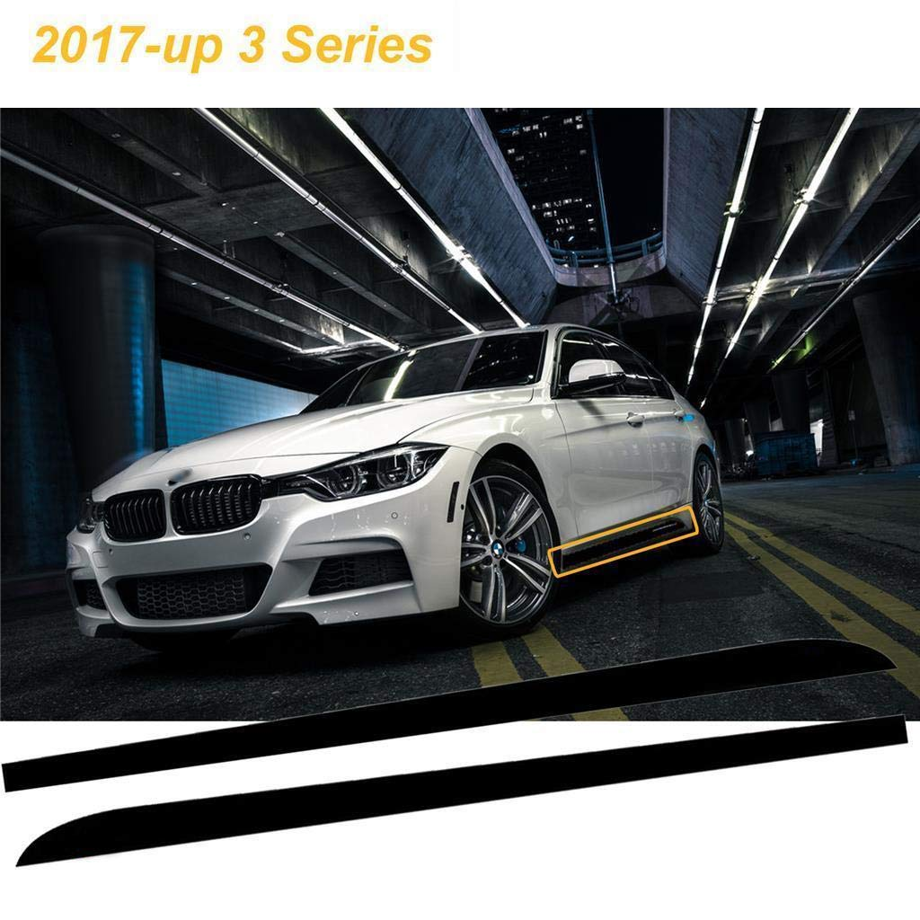 For BMW F30 F31 F34 320 335 M Performance Side Skirt Stripe Vinyl Decal Stickers