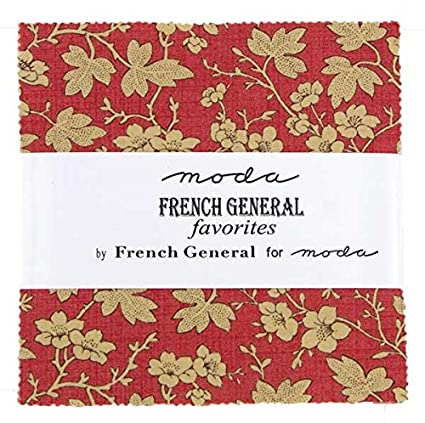 Amazon moda french general favorites charm pack squares 5 x 5 x 42 moda french general favorites charm pack squares 5 x 5 x 42 stopboris Choice Image