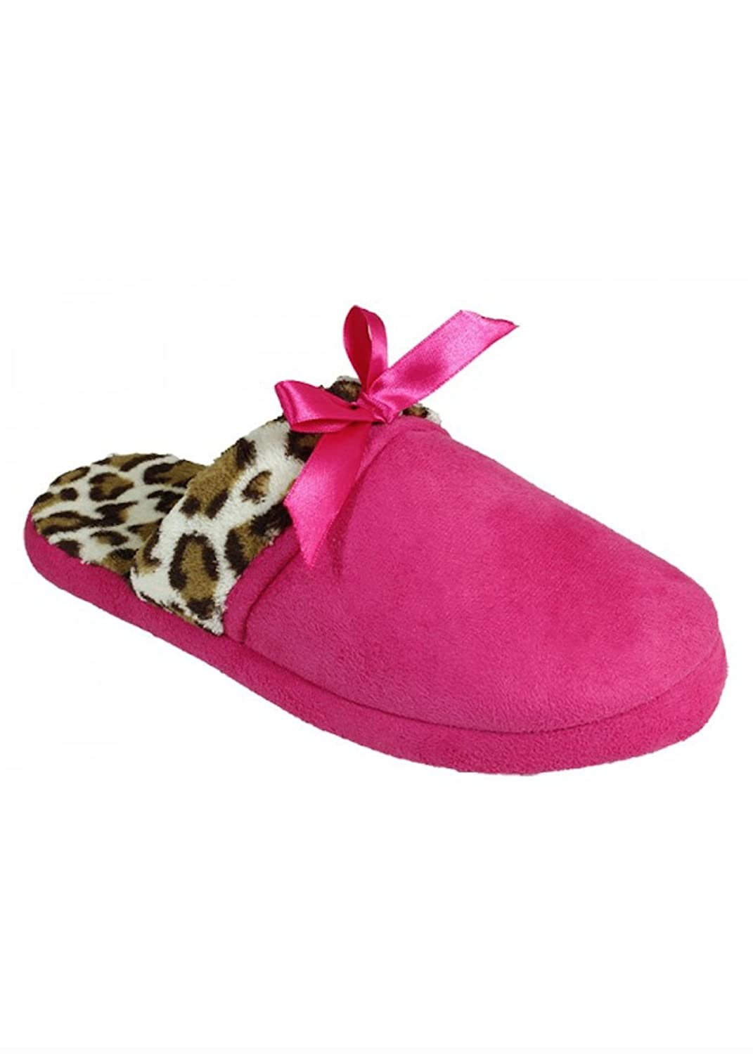 Comfy Microsuede Faux Fur Slippers for Women, Ultimate Fashion and Comfort (X-Large, Pink)