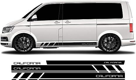 WRAP-SKIN - Juego de Adhesivos Laterales California para VW T4 T5 T6, WS-03-08-10012: Amazon.es: Coche y moto