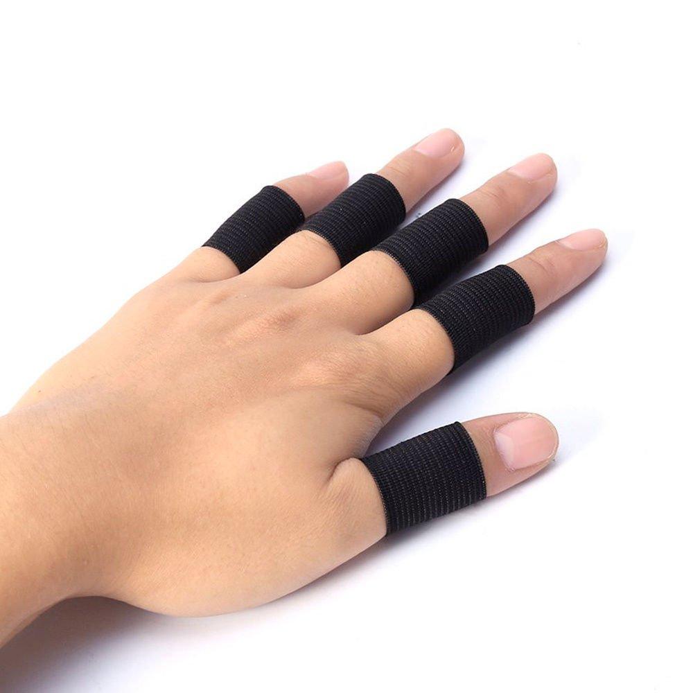 10x fascette protettive protezione dita mano fasce PALLAVOLO BASKET artrite Vinciann