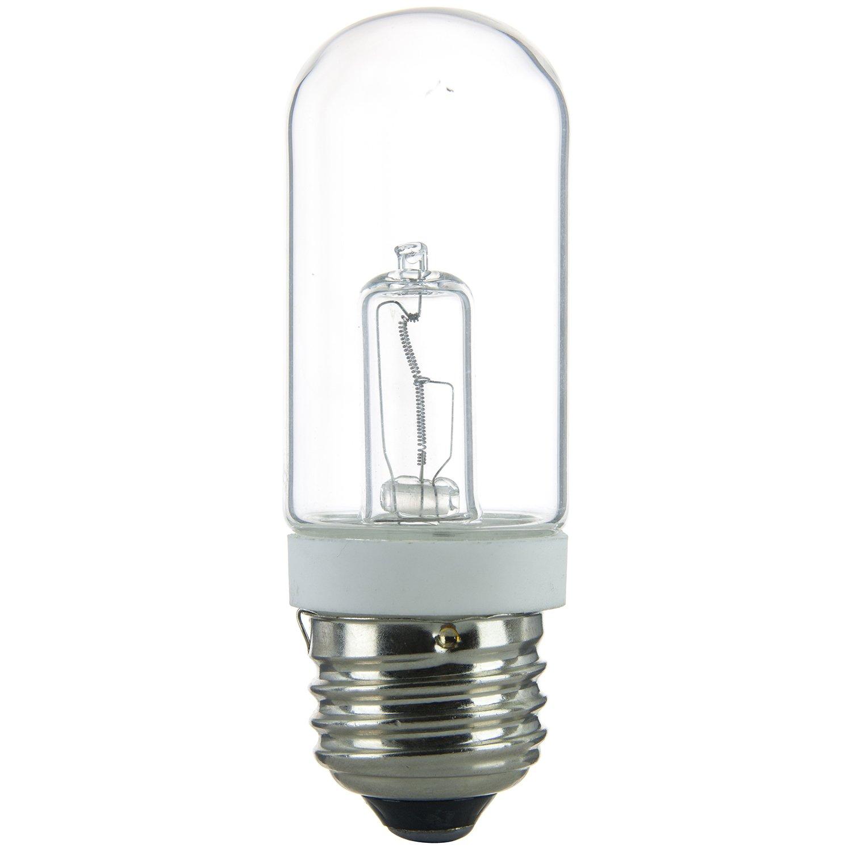 Sunlite 100T10/HAL/CL 100-Watt Halogen Double Envelope T10 Bulb, Clear