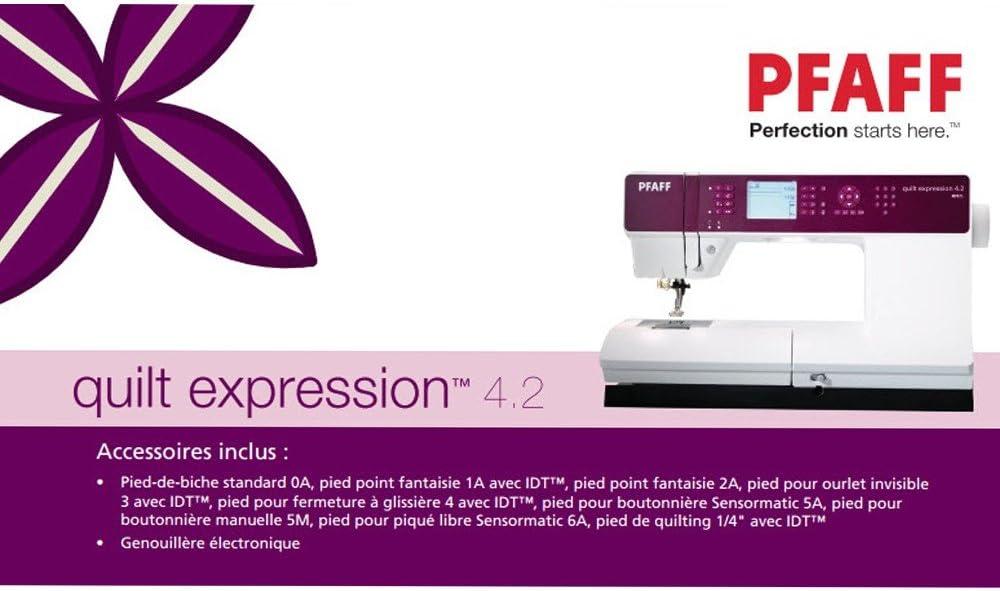 PFAFF 7393033080341 - Máquina de Coser Quilt Expression 4.2 ...