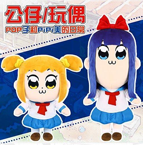 Lot 2 pcs Anime Pop Team Epic Poputepipikku Popuko Pipimi Plush Stuffed Doll Toy