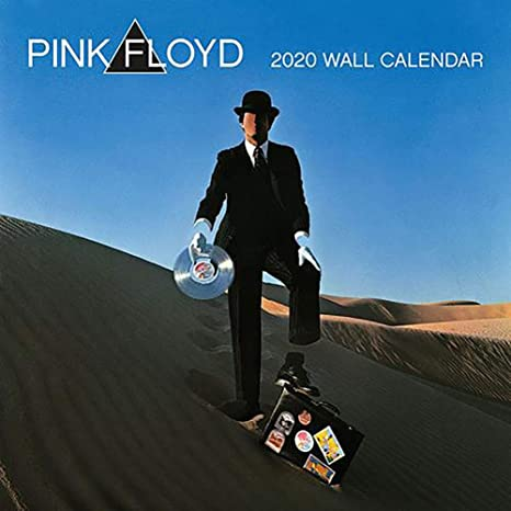 Pink Floyd Tour 2020.Amazon Com Official Licensed Pink Floyd 2020 Calendar