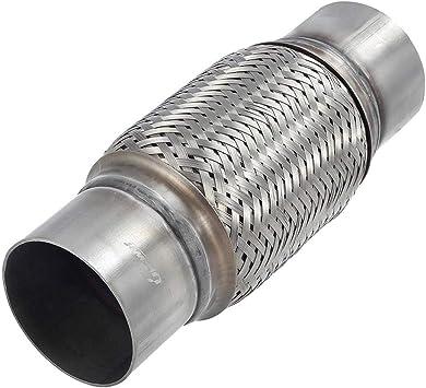 "2.5/"" Id X 10/"" Body Jones Universal Exhaust Flex Pipe Fits 10/"" Overall Leng"