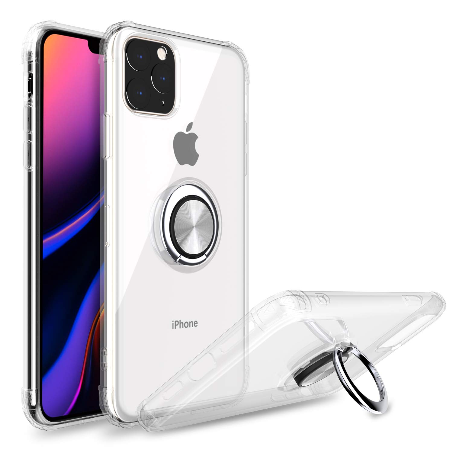 Funda Iphone 11 Pro Con Pie YUNERZ [7WYYD3M6]