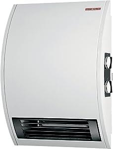 Stiebel Eltron CKT 20E 240-Volt 2000-Watt Wall Mounted Electric Fan Heater with 60 Minute Boost Timer
