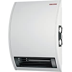 Stiebel Eltron CKT 20E 240-Volt 2000-Watt Wall Mounted Electric Fan Heater with 60 Minute Boost Timer