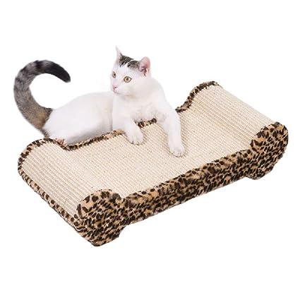 arañazos Pad posar área alfombra de sisal grande gato Dormir ...