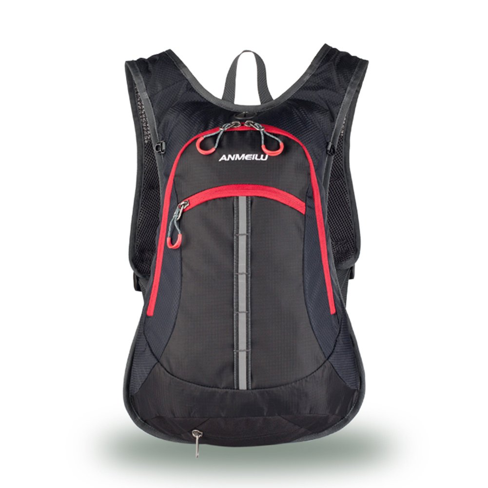 Amazon.com   TOKERS Backpack Outdoor Sports Hydration Rucksack for Bicycle  Running Hiking Camping Travel Cycling Daypack Ultralight Men Women 15L  (Black) ... 05e1d6ad9f3b9