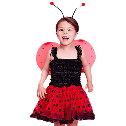 1134553cf91 Amazon.com: CQDY Lady Bug Costumes Halloween Masquerade Christmas ...