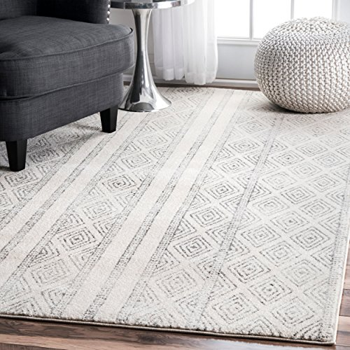 nuLOOM Contemporary Sarina Diamonds Area Rug, 4' x 6', ()