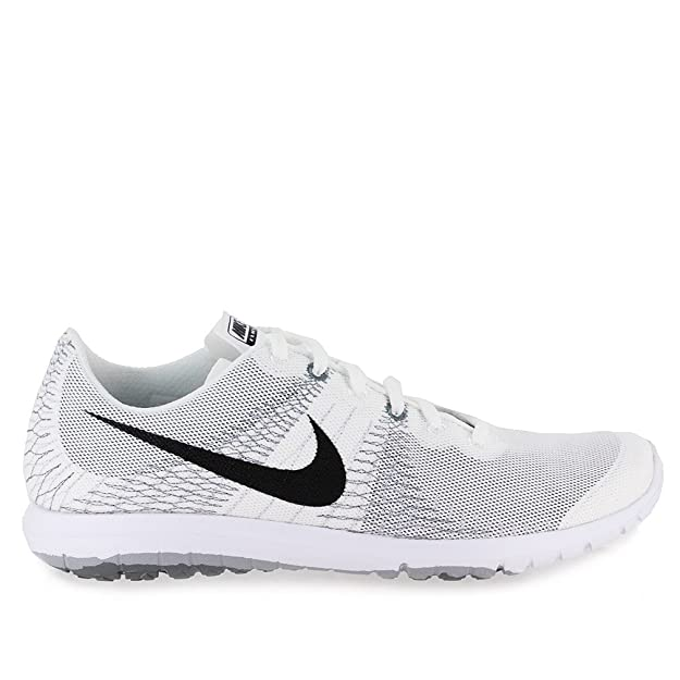 08c94491dd12 Nike Flex Fury Mens Running Shoes White Black-Wolf Grey-Cool Grey 705298-100  (10.5)  Buy Online at Low Prices in India - Amazon.in
